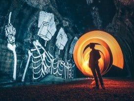 underground graffiti tunnels san francisco