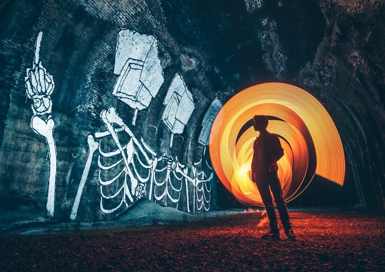 A Peek Inside The Secret Graffiti Tunnels Of San Francisco
